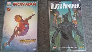 Iron Man 1,  Black Panther | Comic Review | MARVEL