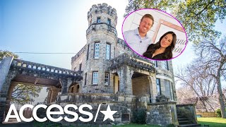 'Fixer Upper's' Chip & Joanna Gaines Bought A Rundown 100-Year-Old Castle! | Access