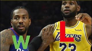 Why LeFraud took a Fat L against the Clippers