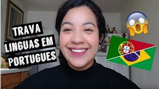 American reading Portuguese Tongue Twisters
