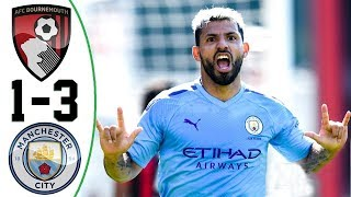 AFC Bournemouth vs Manchester City Highlights 1-3 English Commentary 25-8-2019