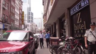 China Travel Tour - Shanghai上海 -  Local Food Street, Yunnan Road 美食街 weekday afternoon