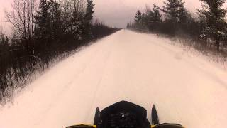 Snowmobiling....