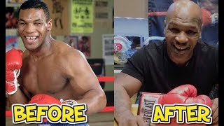 Mike Tyson🥊 - Before and After (Then and Now)