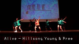 Alive Kids Dance-Hillsong Young & Free