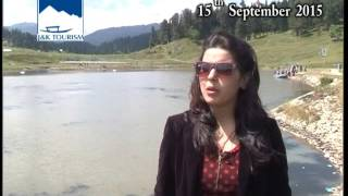 Tourist from Delhi on her first visit to Kashmir