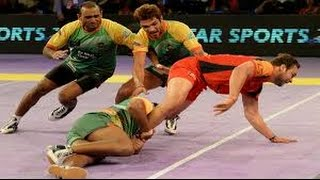 PRO KABADDI LEAGUE 2015 , Bengaluru Bulls Win 31- 28 | Bengaluru Bulls VS Patna Pirat HD