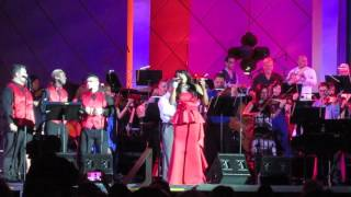 Paulette Ivory sings 'Natural Woman' with full orchestra