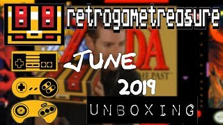 Retro Game Treasure Unboxing June 2019