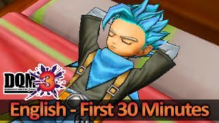 Dragon Quest Monsters: Joker 3 ENGLISH - First 30 Minutes Gameplay (HQ) No Commentary