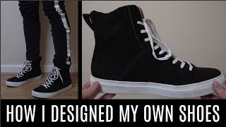 I DESIGNED MY OWN LUXURY SHOES! (you can too)