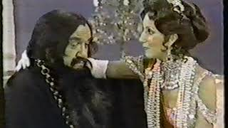 Cher as Czarina Alexandra to Lorne Greene's Rasputin