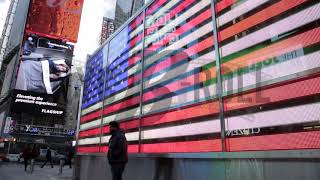 U.S. Flag in Times Square