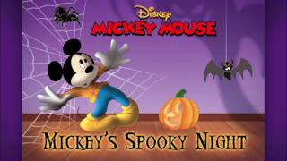 Disney's Mickey Mouse Full Episodes Spooky Night Storybook Puzzle