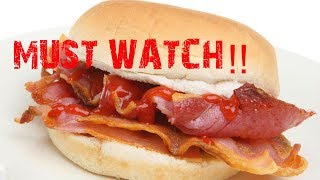 The quest for the bacon sandwich!!!!!!!!!!!! MUST WATCH #bacon #questforbaconsandwich