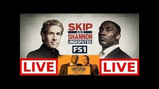 Undisputed 07/23/19 Live HD - First Things First Live | Skip Bayless and Shannon Sharpe on FS1