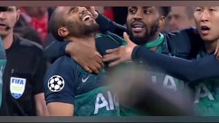 Tottenham Champions league winner with TITANIC MUSIC.