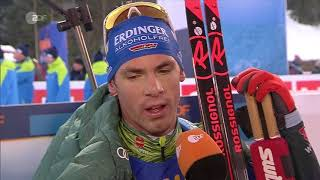 Ruhpolding-2018. Comments from Simon Schempp and Mark Kirchner after relay