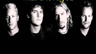 Nickelback - Far Away Lyrics
