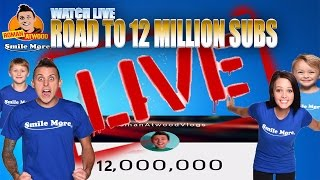 ROMAN ATWOOD ROAD TO 12 MILLION SUBSCRIBERS LIVE