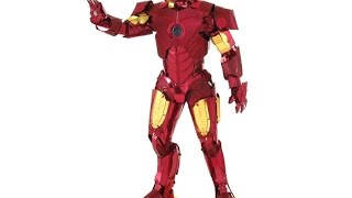 Metal Earth Iron Man Review
