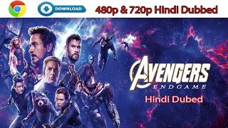 AVENGERS 4: ENDGAME (2019) | Full Movie  in Hindi Full HD | 1080p