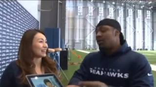 Marshawn Lynch Does A Foreign Candy Taste Test With NFL Japan