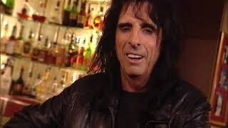 Maynard with Alice Cooper 1997