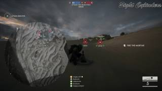 Battlefield 1 Infinite Mortars.. glitch or intended?? 1080p60fps