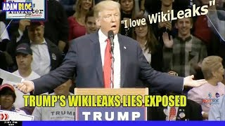 Trump's Wikileaks lies EXPOSED, Mueller report is about to become public?