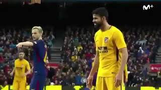 Diego Costa asking Ter Stegen to pass him the ball😂😂😂
