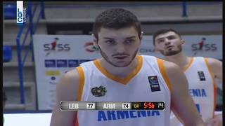 Corey Silverstrom Highlights vs Lebanon - 17pts, 2ast, 4reb, 2blk