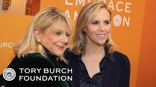 Tory Burch & Her Mother, Reva in Conversation | The Embrace Ambition Series