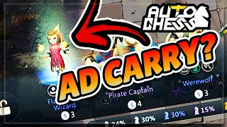 Attack Speed Flaming Wizard!? Auto Chess Mobile