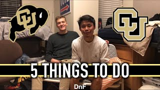 5 Things To Do at CU Boulder