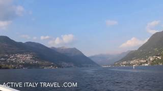 Active Italy Travel Lake Como Boat Ride Promotion