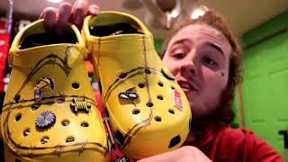 PARALYZED POSTY UNBOXING THE POST MALONE CROCS COLLAB!