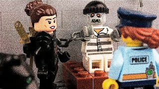 LEGO Zombieland and Lego Robbery and Lego Police Car Video for kids