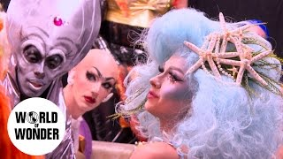 """UNTUCKED: RuPaul's Drag Race Season 9 Episode 3 """"Draggily Ever After"""""""