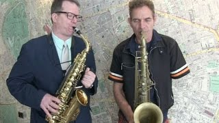 The saxophone for a one-handed musician