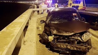 Car plunges off Penang Bridge into sea; SAR mission ongoing