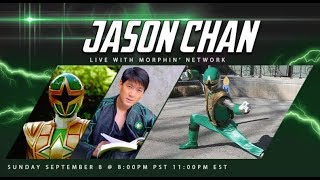 Interview With Jason Chan (Green Samurai Ranger from Ninja Storm)