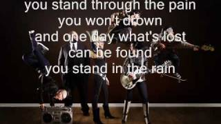 Superchick - Stand in the Rain (with Lyrics)