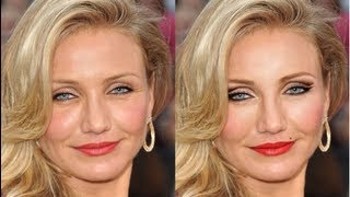 Cameron Diaz Old Hollywood Photoshop Makeover