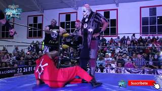 La Parka, Pagano y Murder Clown vs el Hijo del Fantasma, Monster Clown y Chessman