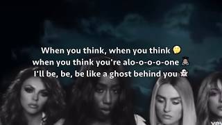 Little Mix ft Kamille - More than words can say Lyrics