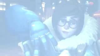 【WebM】 Overwatch Mei - Vape Nation