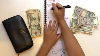 November 2019|Budget|Step 4: Budget With Me-Cash Envelope Stuffing