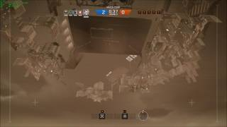 Rainbow Six Siege - Drone Falling Through Map
