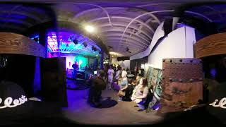 Controlled Chaos Live Art and Music Event VR 360°walk through